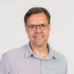Talous- ja hallintopäällikkö Christer Fallströmin kuva
