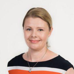 Ystäväpiiri-toiminnan päällikkö Anu Janssonin kuva