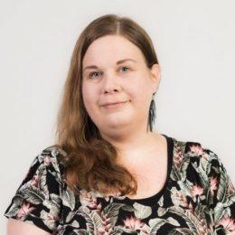 Ystäväpiiri-toiminnan alueohjaaja Marjo Pyykön kuva