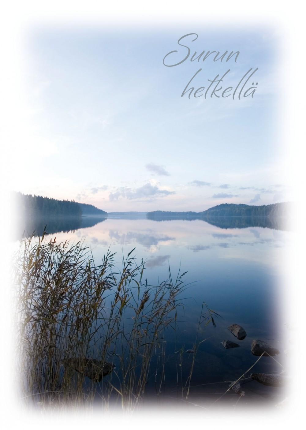 Tyyni järvi -suruadressi