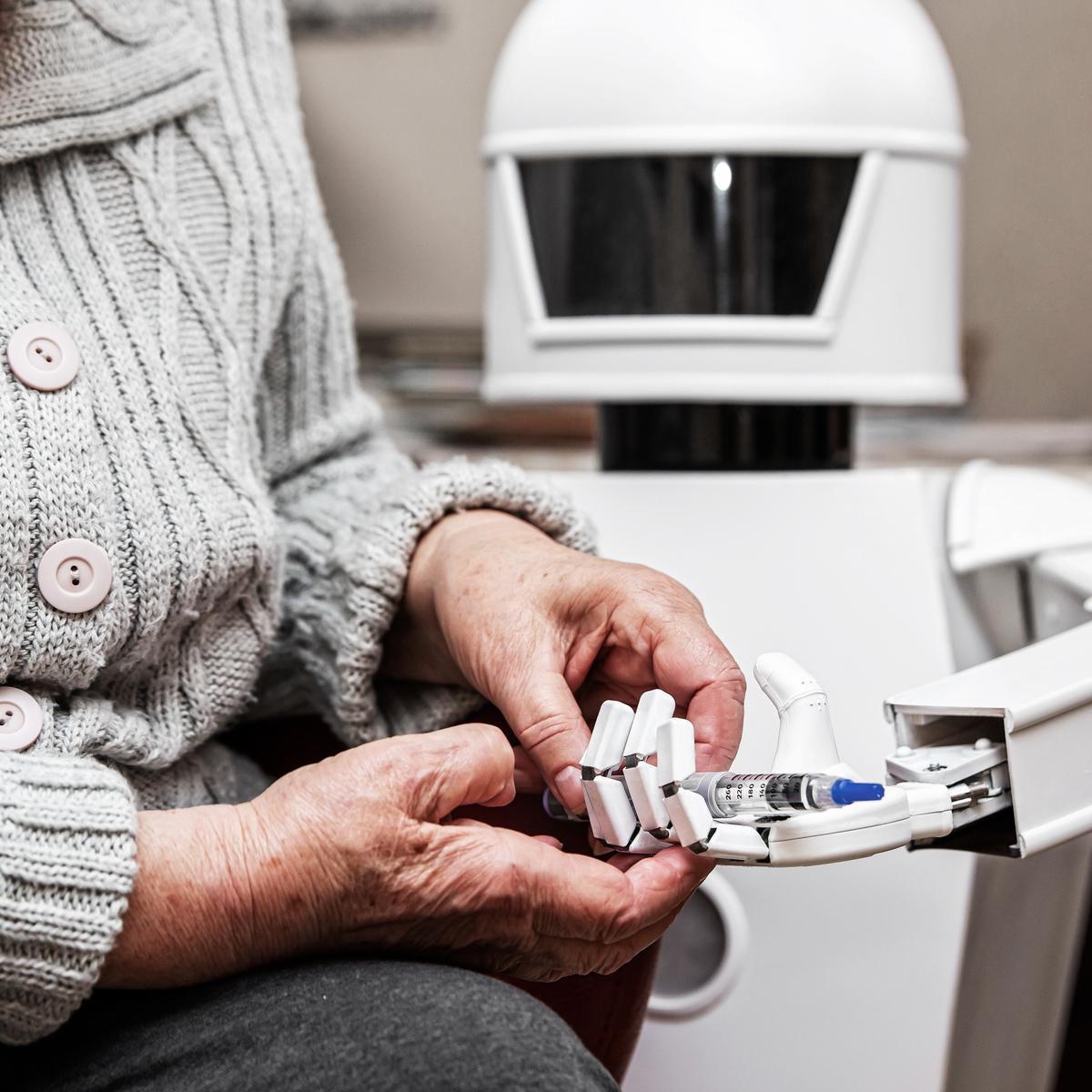 Ikäteknologia. Robotit vanhustenhoidossa.