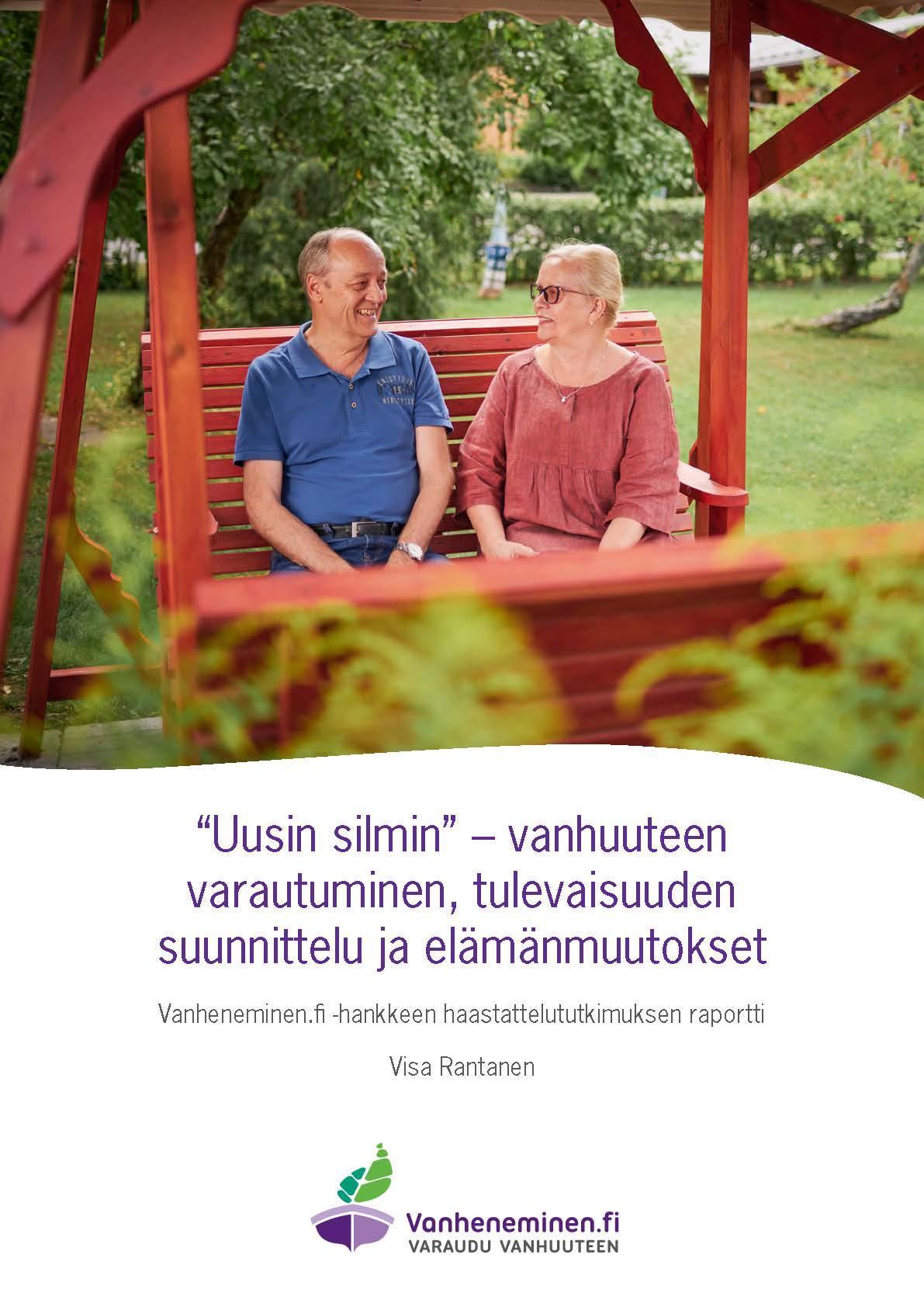 Tutkimusraportti 2021 Vanheneminen.fi