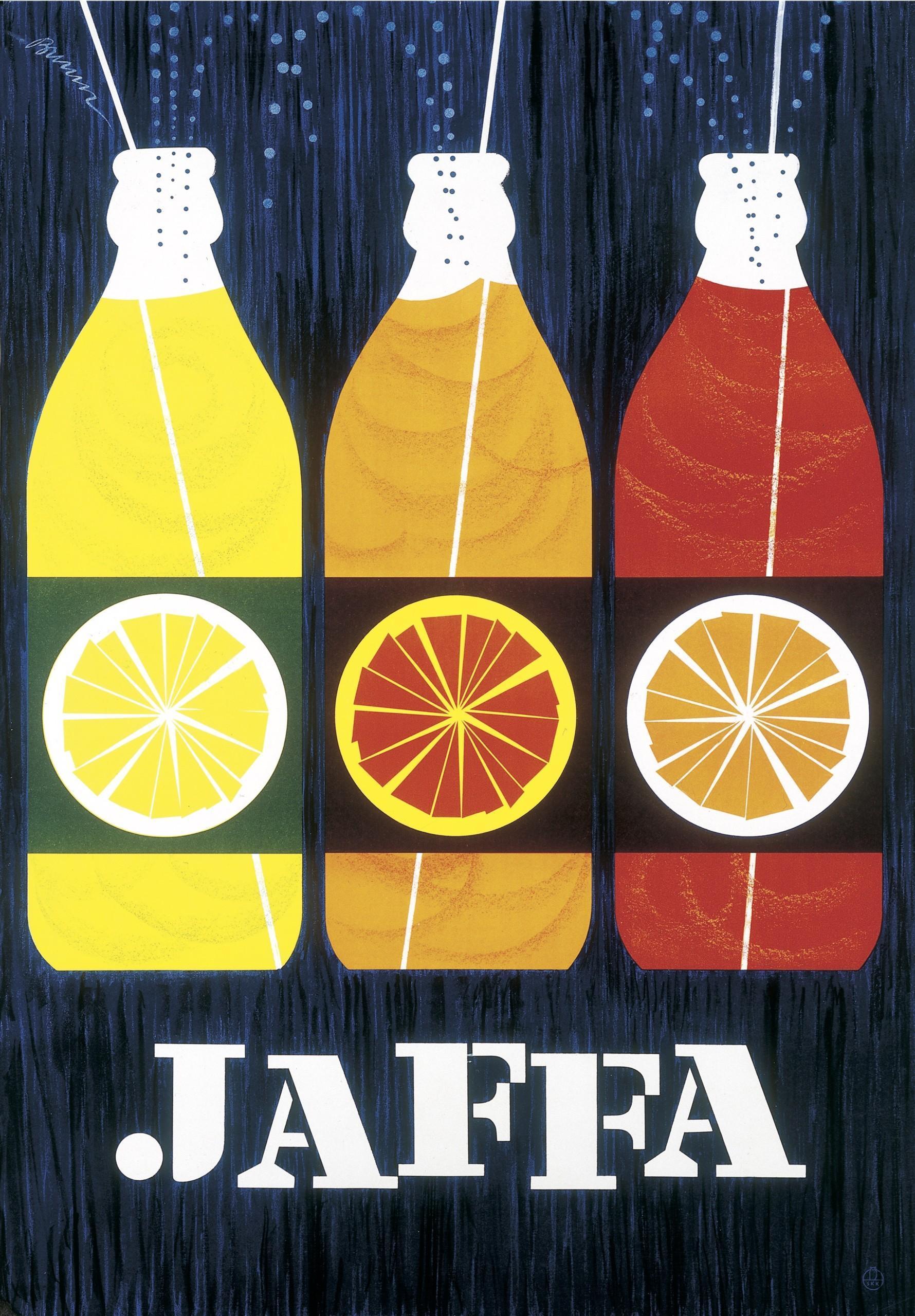 Erik Bruunin piirros Jaffa limupulloista.